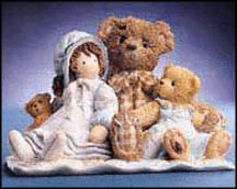 "Cherished Teddies-#786691-Elmer /& Friend-/""FRIENDS ARE THE THREAD THAT HOLDS/""-NIB"