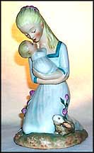 Mother Embracing Child  #Byj 36  Tmk 6 - Goebel