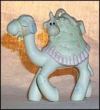 521671 PRECIOUS MOMENTS MINIATURE NATIVITY CAMEL MONKEY HOPE YOURE OVER THE HUMP