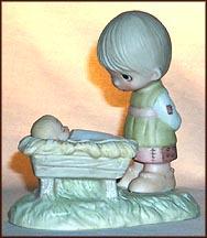 Come Let Us Adore Him  #E-2011  Tmk - NM