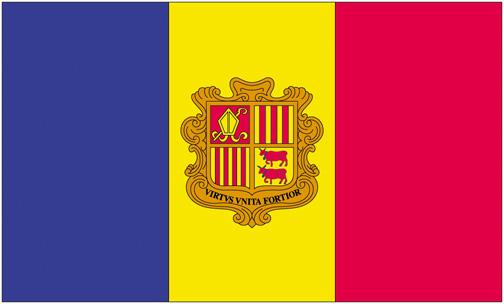 <big>Andorra  Flag</font></big>