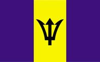 <big>Barbados  Flag</font></big>