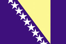 <big>Bosnia - Herzegovina  Flag</font></big>