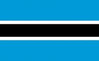 <big>Botswana Flag</font></big>