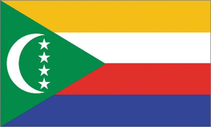 <big>Comoros Flag</font></big>