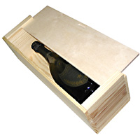 Wooden Box 1 Bottle