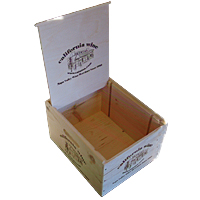 Wooden Box 6 Bottle