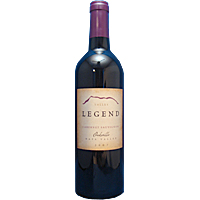 2007 Valley Legend Cabernet Sauvignon Rock Cairn Vyd Oakville