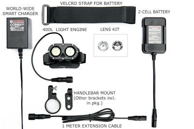 400L PLUS Headlight