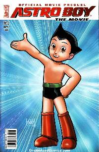Astro Boy Movie Prequel Underground #1 (Cover A)