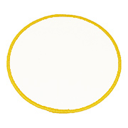 "Circle 2.5"" C2.5 Standard Color Blank Patch"