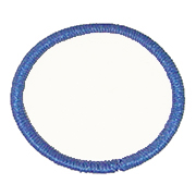 "Circle 3.5"" C3.5 Standard Color Blank Patch"