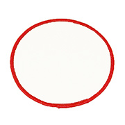 "Circle 3"" C3 Standard Color Blank Patch"