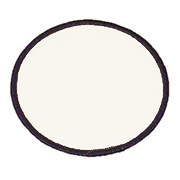 "Circle 6"" C6 Standard Color Blank Patch"