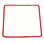 "Square 5"" S5 Standard Color Blank Patch"