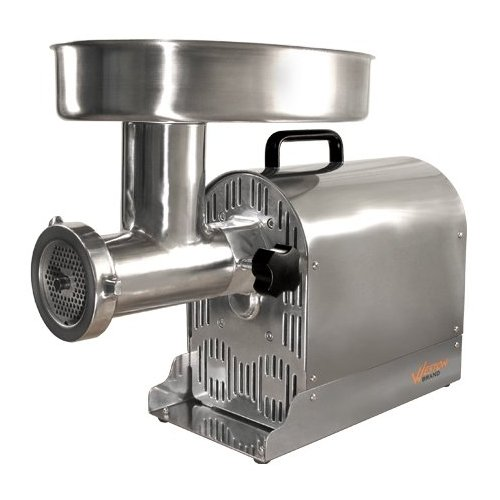 Meat Grinder Weston Electric Pro Series #22 Stainless Steel