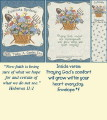 Encouragement Bookmark Card - Faith