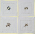 Cross Beverage Napkins - Set of Four