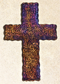 Davidic Code Cross with the Lord
