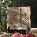 May God bless this Home Stepping Stone