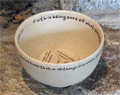 Faith Stone Prayer Vessel