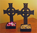 Wrought Iron Box Cross