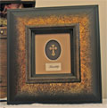 Framed Adorned Cross - Friendship