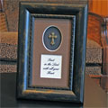 Framed Adorned Cross - Trust in the Lord..