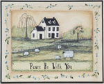 Peace Be With You Wall Hanging