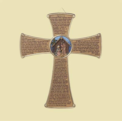 Fontanini Nativity Story Cross