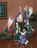 Amazing Ceramic Nativity