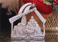 Nativity Standing Plaque - Small