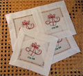 Christmas Beverage Napkins - Set of Four