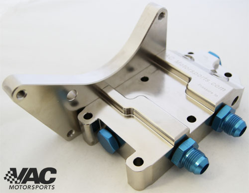VAC - Billet Racing Oil Filter Housing