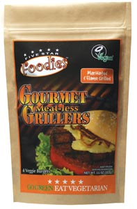 Gourmet Grillers Meatless Burgers by Five Star Foodies