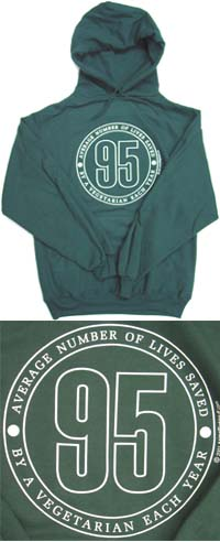 95 Design Hooded Sweatshirt