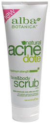 AcneDote Maximum Strength Face &amp; Body Scrub by Alba Botanica