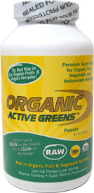 Organic Active Greens Powder by Bio International