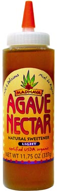 Organic Agave Nectar by Madhava (Honey Substitute)