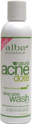 Natural AcneDote Deep Pore Wash by Alba Botanica