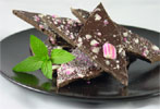 Organic Dark Chocolate Peppermint Bark by Allison�s Gourmet