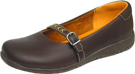 Ally Sandal by Vegetarian Shoes - Brown