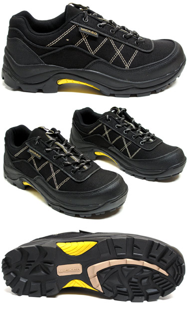 Alton 2.0 Hiker by Wicked Hemp - Men's Black