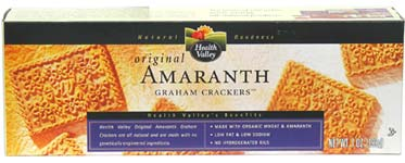 Organic Amaranth Graham Crackers by Health Valley
