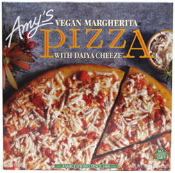 Amy's Vegan Margherita Pizza with Daiya Cheeze