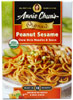 Annie Chuns Organic Peanut Sesame Chow Mein Noodles & Sauce