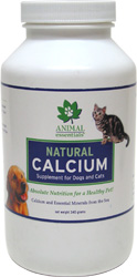 Natural Calcium Powder for Dogs and Cats by Animal Essentials