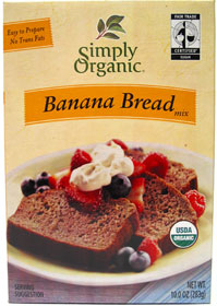 Simply Organic Banana Bread Mix