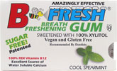 B Fresh Vegan Chewing Gum Packs