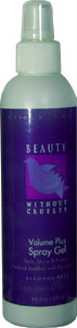 Volume Plus Spray Gel by Beauty Without Cruelty